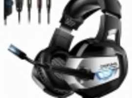 ONIKUMA K5 PS4 XBOX GAMING HEADSET WITH MIC