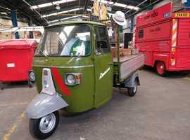 Genuine 1971 italian piaggio ape 180cc petrol van.