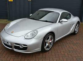 Porsche Cayman S, 2006 (06) Silver Sports, Manual Petrol, 80,000 miles
