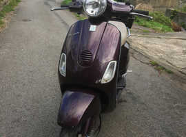Piaggio Vespa scooter