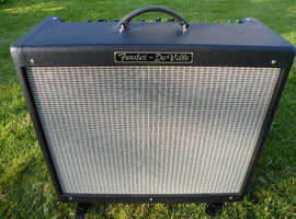 Fender Hot Rod Deville 212 60W Combo with Footswitch & Cover & Castors - Excellent Condition