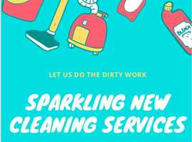 SPARKLING NEW' cleaning service at an affordable rate available Near YOU. Providing 5* results