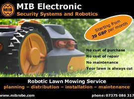 Robotic Lawn Mowing Service