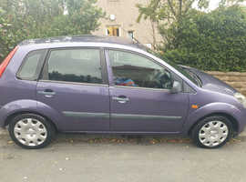 Ford Fiesta, 2006 (06) Purple Hatchback, Manual Petrol, 132,500 miles