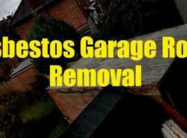 ASBESTOS GARAGE ROOF REMOVAL LONDON ****FREE QUOTE TODAY***