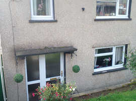 Looking to swap from 3 bedroom house to 2 bedrooms in maesteg. Lovely family home. Quiet location. Pet friendly. Dubbleglazed. Front and back garden.