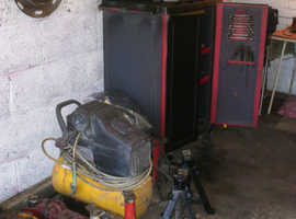private garage tool sale in aid of cancer research