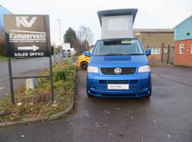 2007 (07) VW SWB T5 RAVEN BLUE Campervan 174bhp LOW MILEAGE 54,000