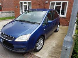 Ford C-Max, 2007 (07) Blue MPV, Manual Petrol, 118,000 miles