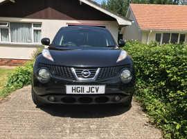 Nissan Juke, 2011 (11) Black Hatchback, Manual Petrol, 99,815 miles