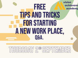 Free Tips & Tricks For Entering The Work Place