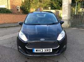 Ford Fiesta, 2013 (13) Black Hatchback, Automatic Petrol, 21,000 miles