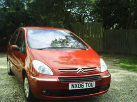 Citroen Xsara, 2006 (06) Red Estate, Manual Petrol, 145,000 miles