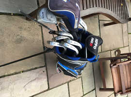 Golf clubs for left hander