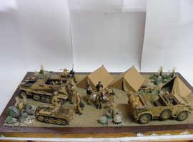 1:35th. German WW 2. Rommel's Rest.