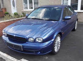Jaguar X-TYPE V6 SPORT AUTO, 2003 (03) Blue Saloon, Manual Petrol, 74,000 miles