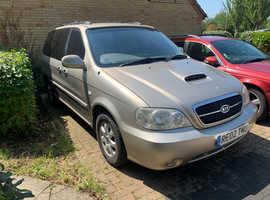 Kia Sedona, 2002 (02) Beige MPV, Manual Diesel, 94,206 miles