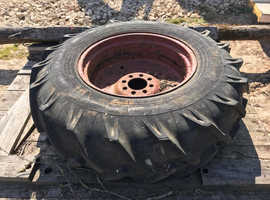 JCB? WHEEL WITH GOOD TYRE