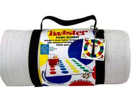 NEW Twister Fleece Picnic Blanket