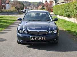 Jaguar X-TYPE SE D, 2008 (57) Blue Saloon, Manual Diesel, 92,601 miles, extensive service history, only 4 owners from new, MOT  14/02/2020
