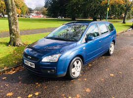 Ford Focus, 2007 (57) Blue Estate, Manual Petrol, 65,036 miles