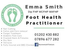 Bournemouth Footcare - Foot Health Practitioner