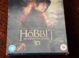 Hobbit Unexpected Jouney Extended Edition 3D blu-ray