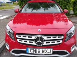 Mercedes GLA-CLASS, 2018 (18) Red Estate, Manual Diesel, 22,000 miles