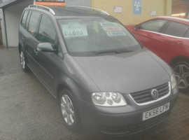 Volkswagen Touran, 2006 () Grey MPV, Manual Diesel, 137,000 miles