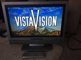 great TV WITH REMOTE 19 INCH hdmi etc