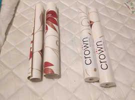2 brand new rolls wall paper
