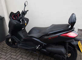 YAMAHA 250 250cc XMAX X-MAX SPORT MOPED MOTORBIKE MORTOR CYCLE 2013 PLATE 12 MONTHS MOT 1 OWNER