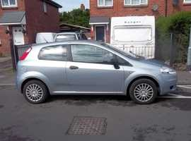 fiat grande punto three door hatchback