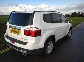 Chevrolet Orlando, 2013 (13) White MPV, Manual Petrol, 54,000 miles