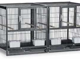 Hampton Deluxe Divided Flight Breeding Cage, Almost new i bought from Amazon 4 Month ago  Cost £201 Asking price £100
