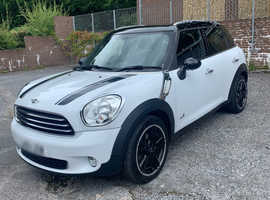 MINI COUNTRYMAN, 2014 (14) White Hatchback, Manual Diesel, 38,700 miles