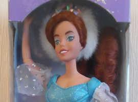 Anastasia skating princess Galoob doll 1997 NRFB