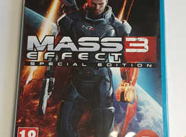 wii u game Mass Effect 3 Special Edition