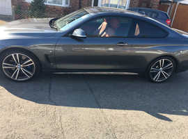 BMW 4 Series 430D M Sport, 2015 (65) Grey Coupe, Automatic Diesel, 42,000 miles