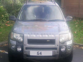 ==Land Rover Freelander== 2004 (54) Manual Petrol ==MOT March 2020==