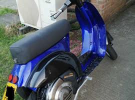 Vespa t5 cutdown 125 cc scooter