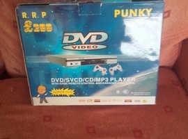Dvd sv cd mp3 player