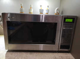 Sharp Stainless Steel 25/30L microwave