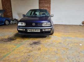 Volkswagen Golf, 1996 (P) Blue Hatchback, Manual Petrol,