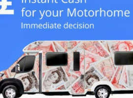 Wanted motorhome