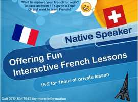 French lessons in Glasgow