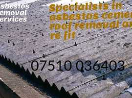 Asbestos garage/shed removal