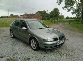 Seat Leon, 2003 (53) Grey Hatchback, Manual Diesel, 157,590 miles