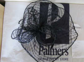 Blue Fascinator from Palmers Lowestoft As NEW Immaculate Condition Cost £42 Bargain at £15 ONO