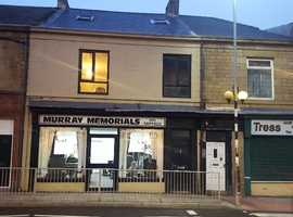 3 bed flat and commercial property for sale gateshead